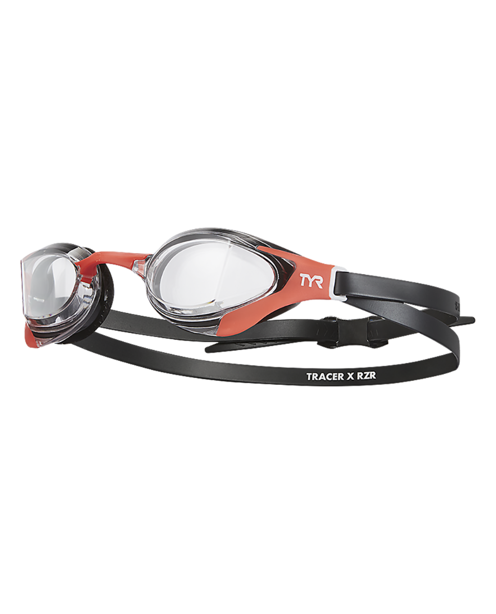 158 Clear/Red/Black